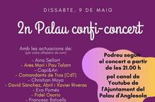 El Palau d'Anglesola celebra el segon Palau Confi-concert