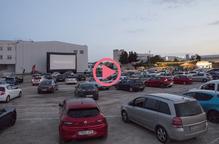 ⏯️ Golmés inaugura l'únic auto cinema de Catalunya