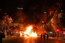 #SentènciaProcés: Lleida torna a cremar per segona nit consecutiva