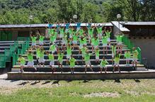 L'onzena edició del Tecni Camp dels Pirineus reuneix a Rialp 42 joves