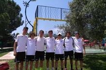 L'equip cadet masculí del CT Lleida, a vuitens de l'Estatal