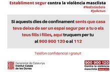 Campanya perquè els comerços ajudin a protegir dones maltractades