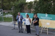 Reñé inaugura la millora d'un camí de Bellmunt d'Urgell