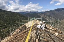 Baix Pallars demana ajuts per a una església apuntalada
