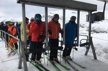 L'esquí de Lleida tanca el pont al vendre 97.300 forfets, xifra només superada el 2005