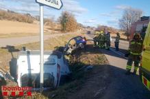 Set ferits per accidents a les carreteres lleidatanes