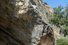 Foradada estabilitza el front rocós de Salgar per evitar allaus com els de fa un any