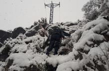 Reobert el port de la Bonaigua després de tres dies en què pobles sencers s'han quedat sense telefon