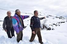 Endesa substitueix 2 torres malmeses pel temporal de neu a Coll de Nargó