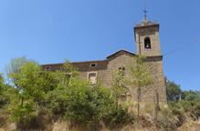 Clariana de Cardener tanca l'església de Sant Serni i repara la teulada