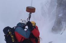 Un alpinista ferit després de caure per una canal a la Serra del Cadí