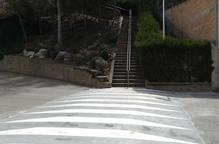 La Sentiu instal·la passos elevats al centre