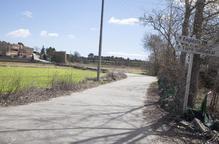 Ossó vol dotar de voreres l'accés a Castellnou per millorar la seguretat