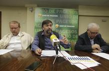 """Les organitzacions agràries carreguen contra els pressupostos de Rajoy per la """"insuficient"""" inversió en Agricultura"""