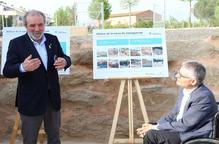 Inauguren el tanc contra les inundacions de Torrefarrera