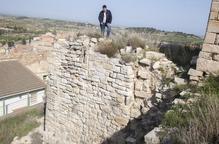 Actuació urgent a Ciutadilla per reparar esquerdes del castell