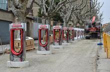 Habiliten deu punts per a la càrrega de vehicles elèctrics a la Seu d'Urgell