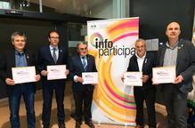 Premi per a Lleida, les Borges, Mollerussa, Bell-lloc i Solsona en transparència