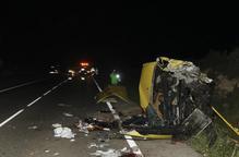 Cap hipòtesi descartada al saber-se que el xòfer de la furgoneta de la C-12 es va autolesionar