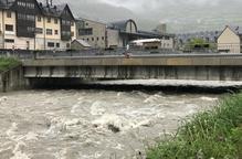 Aran demana prohibir activitats a la Garona quan assoleixi els 80 metres cúbics