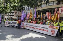 UGT i CCOO es mobilitzen per exigir millors salaris