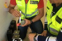 Intervenen 142 botelles d'alcohol de contraban a Fraga i Binèfar