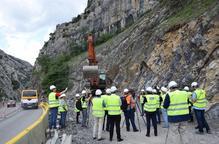 La perforació del túnel de Tres Ponts durarà més d'un any