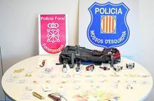 Desarticulen una banda a Lleida que va cometre 22 furts