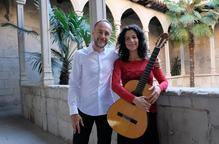 La guitarra, protagonista a l'IEI amb Carles Herraiz i Raquel Benito