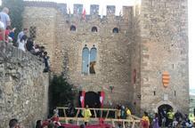 Combats medievals al castell de Montsonís
