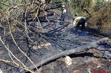 Un foc calcina 4,2 hectàrees entre Balaguer i la Sentiu de Sió