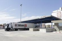 La duana de Lleida estrena l'ampliació dels molls