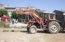 La Segarra celebra la FarmRace, un circuit d'habilitats amb tractor