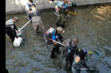 Rescatades 3.760 truites al canal de Sossís