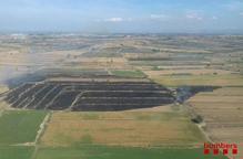 Tres incendis calcinen més de deu hectàrees a Ponent