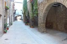 Obres per culminar la reforma del barri antic de Salàs de Pallars