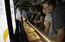 L'IEI inaugura la mostra de fòssils amb unes 150 peces procedents del seu fons