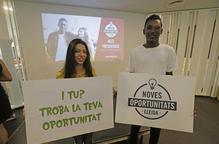 Un programa troba feina per a 110 ni-nis de Ponent