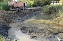 Denuncien una gravera d'Algerri per abocaments al riu