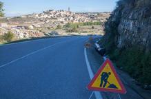 Reobren al trànsit després de les allaus de divendres les carreteres de Maldà i Olius