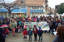 Concentració i més protestes avui en col·legis pels menjadors
