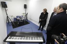 Alguaire estrena la nova escola de música