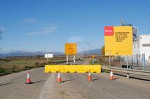 Tallada la carretera de Linyola a Bellcaire per reforma integral