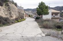 Guimerà repara d'urgència el mur del carrer de la Bovera