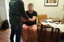 Cau una xarxa de narcotràfic amb un escorcoll a Prats i Sansor