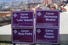 Dones activistes, socials i polítiques, per substituir els noms franquistes dels carrers
