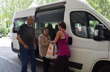 Nou servei de taxi per a 200 veïns de la vall de la Vansa