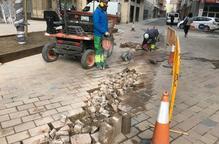 Aixequen de nou un carrer de Noguerola