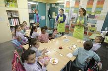 Tones de fruita per a les escoles