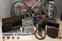 Empresonats dos joves d'Alguaire per una onada de sis robatoris en habitatges